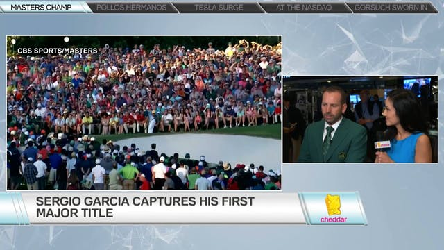 Sergio Garcia - Winner of the 2017 Ma...