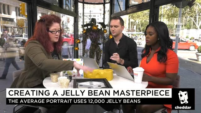 How One Artist Turns Jelly Bellies In...