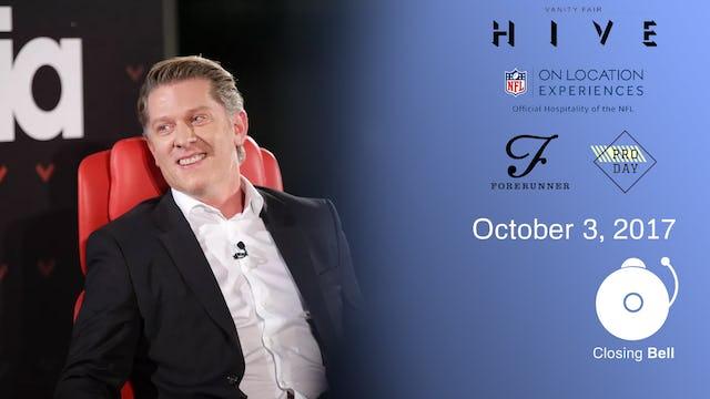 VF Hive + Closing Bell October 3, 2017