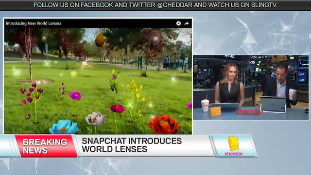 Snapchat Introduces World Lenses