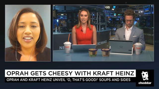 Oprah Gets Cheesy With Kraft Heinz