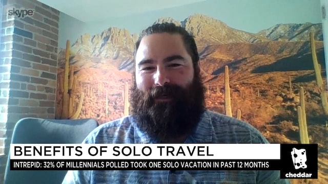 Why More Millennials Are Traveling Alone
