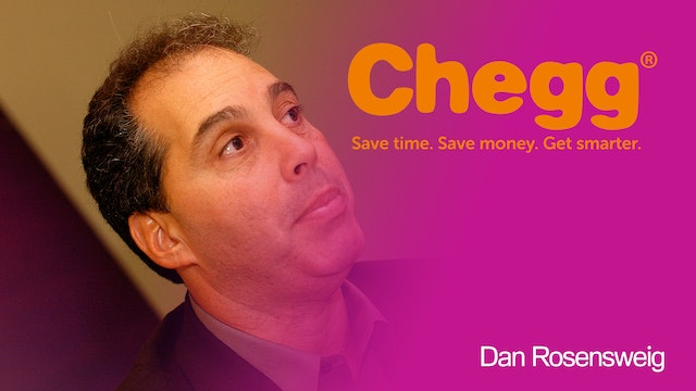 Dan Rosensweig CEO of Chegg on Verizo...