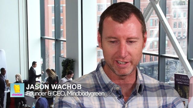 Jason Wachob of mindbodygreen at Foun...