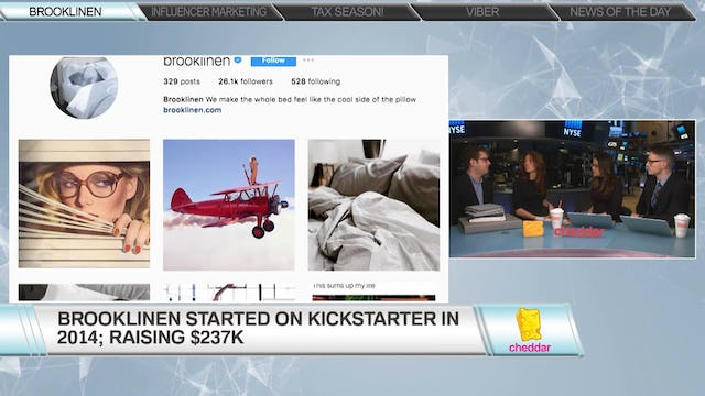 Brooklinen co-founders Vicki and Rich Fulop discuss their fast-growing company Brooklinen
