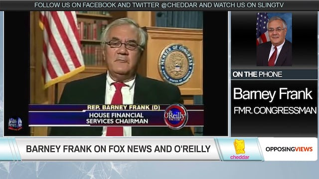 Fmr. Congressman Barney Frank Says Bill O'Reilly Would Silence Guests