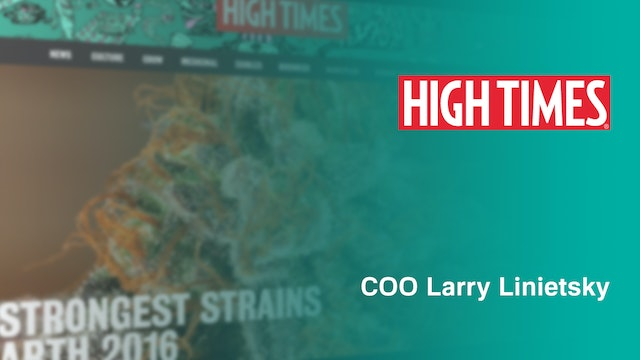 High Times is the Vogue for Marijuana.