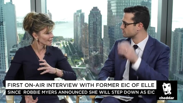 Former Elle Editor-in-Chief Robbie Myers Is Opening Up to Cheddar