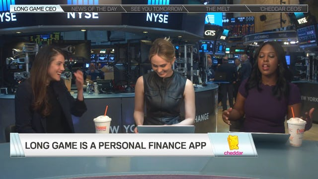 Lindsay Holden joins Cheddar to speak about Long Game, the personal finance app that encourages users to save money while winning prizes.