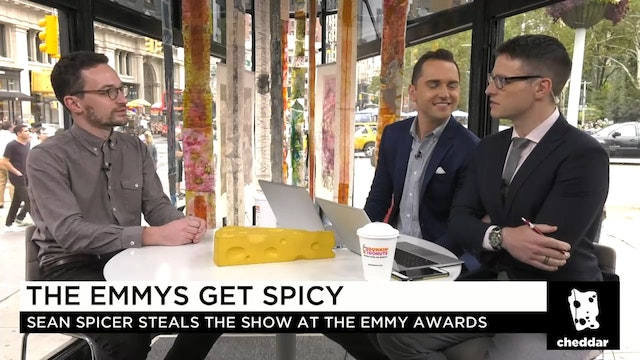 What to Make of Spicer's Emmy Appearance