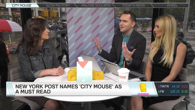 "Inspiration Behind New Book ""City Mouse"""