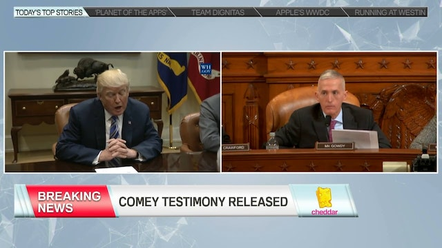 Senate Intel Committee Releases Comey...