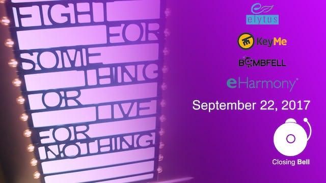 Closing Bell September 22, 2017