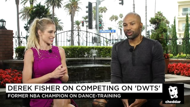 "Ex-NBA Star Derek Fisher on ""DWTS""- I..."