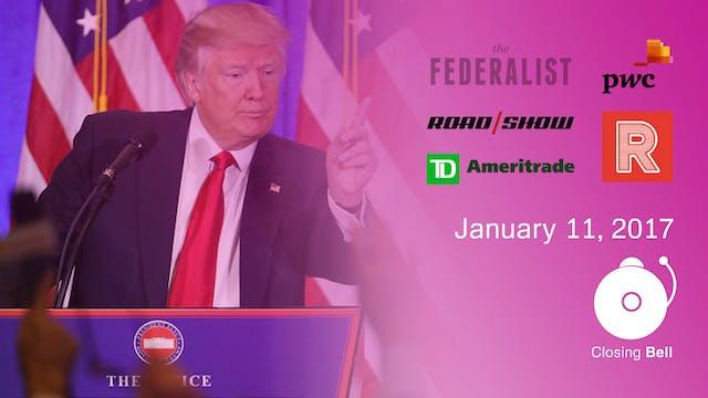 Closing Bell - January 11, 2017