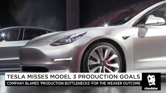 How Tesla Missed its Production Goals
