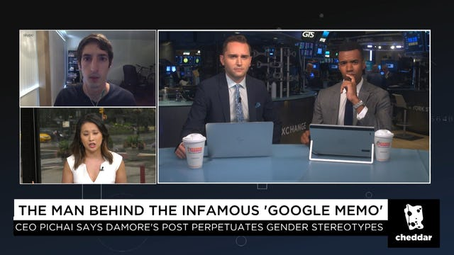 James Damore: I'm Just Trying to Address Hostility In the Workplace