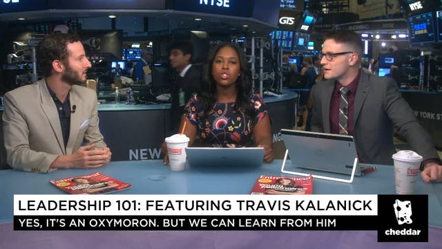 Surprise! You Could Learn Something From Travis Kalanick's Leadership