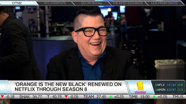 Orange Is the New Black's Lea Delaria...