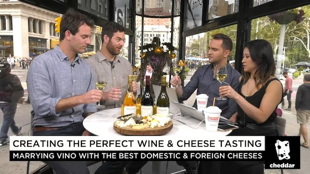 "The ""Cheese Twins"" on Creating the Perfect Wine and Cheese Pairings"