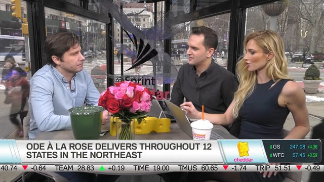 Founder  Ode à la Rose Olivier Plusquellec Discusses the Business of Valentine's Day