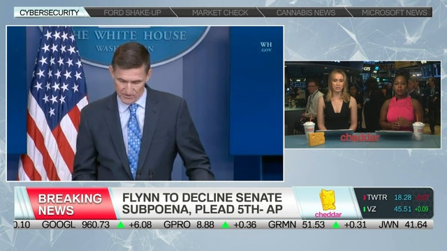 BREAKING- Flynn Reportedly to Decline...