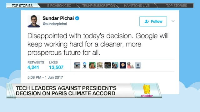 Tech and Business Leaders React to Tr...