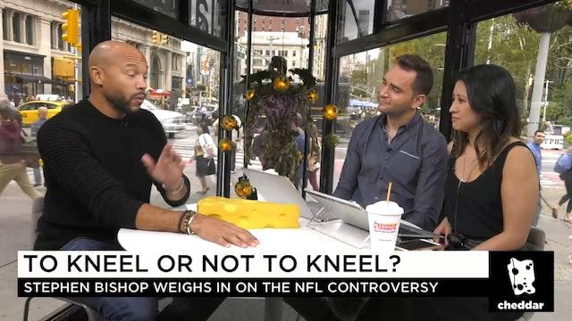 Actor Stephen Bishop Debates a Fan Over the NFL Protest