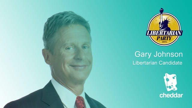 Gary Johnson's four key positions ahe...