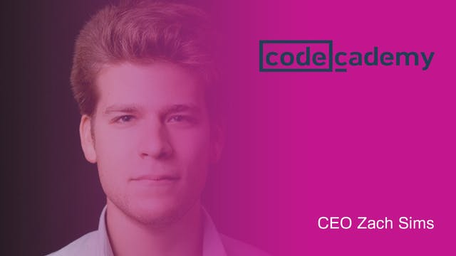 Codecademy helps you learn coding to ...