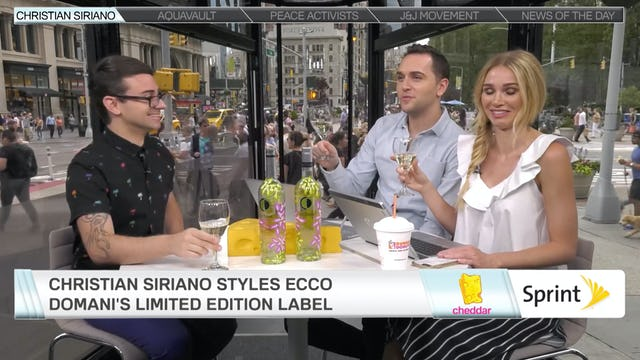 Christian Siriano on Why It's OK To Judge a Wine By Its Bottle