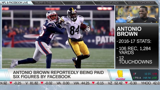 What Antonio Brown's FB Live Deal Mea...