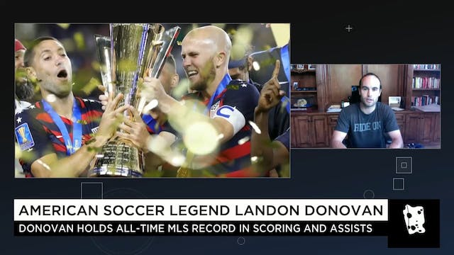 Landon Donovan's Thoughts on Bruce Ar...