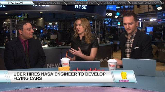Space.com's Tariq Malik on Uber Elevate