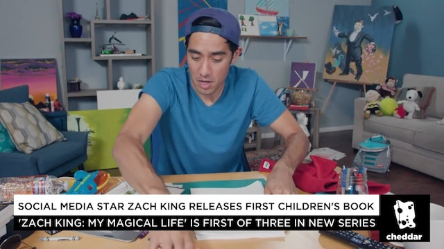 Zach King Shows Off His Magical Book