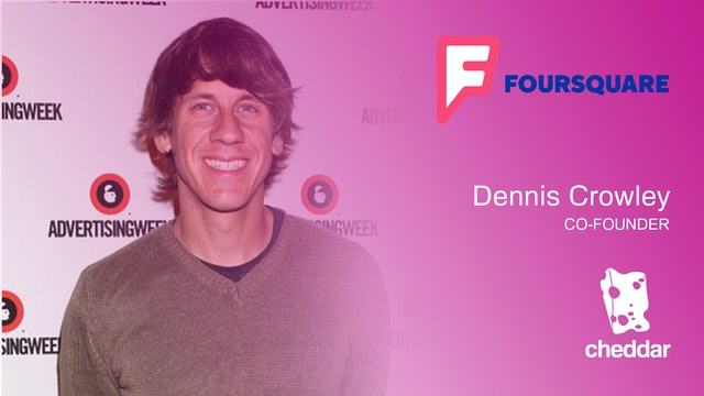 Dennis Crowley announces Foursquare partnership with Snapchat