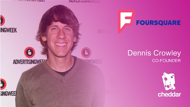 Dennis Crowley announces Foursquare p...