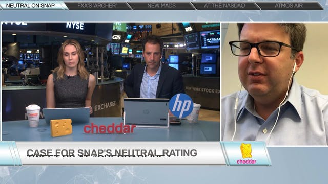 Richard Greenfield Doesn't Think Snap...
