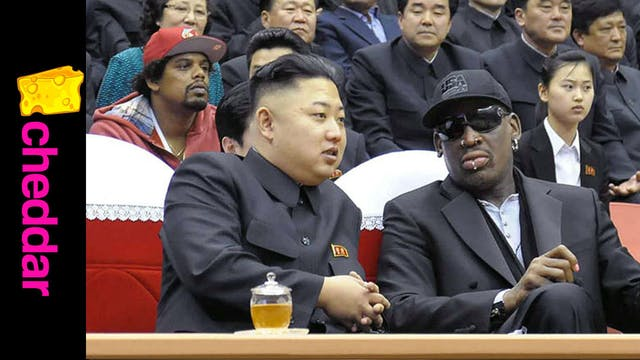 Dennis Rodman in North Korea to Promo...