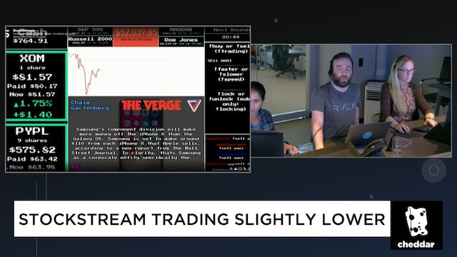 StockStream Trading Lower But There Are a Few Standouts