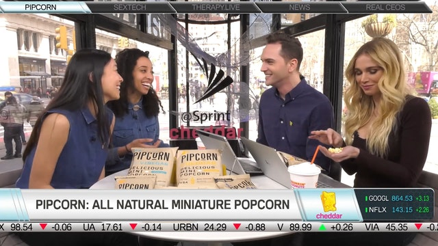 Teresa Tsou & Jen Martin, Pipcorn CEO...
