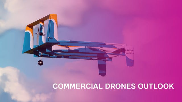 Commercial drones are taking off, but...