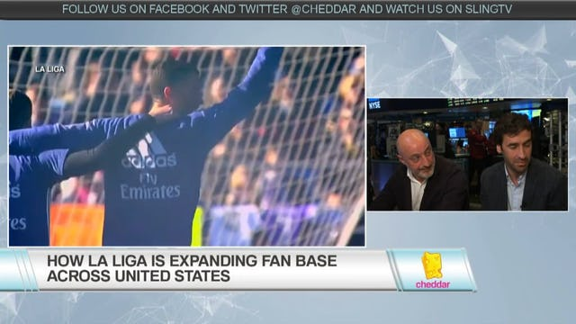 Football Legend Raul Gonzalez and Silvestre Jos Are Growing La Liga in the U.S.