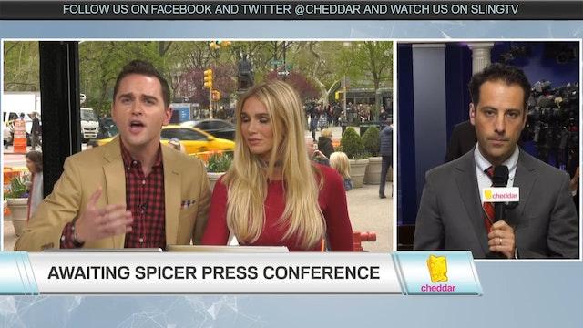 Awaiting Sean Spicer's Press Conferen...