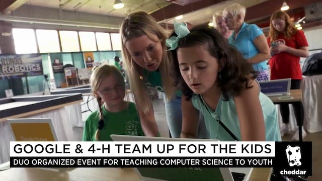 Google and 4-H are Teaming Up For Kids