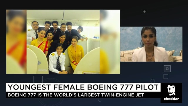 Meet the Youngest Female Boeing 777 P...