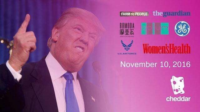 November 10, 2016 Full Show