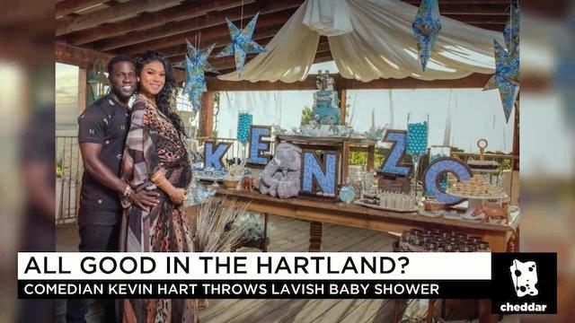 Cheddar Dives Into the Drama Behind Kevin Hart's Lavish Baby Shower