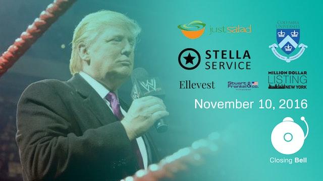 Closing Bell - November 10, 2016