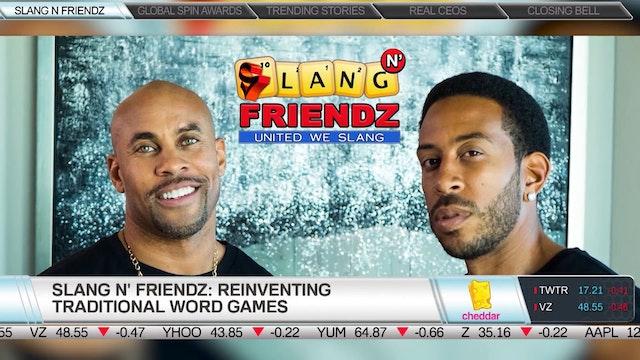 Slang N' Friendz founder Edwin Benton...